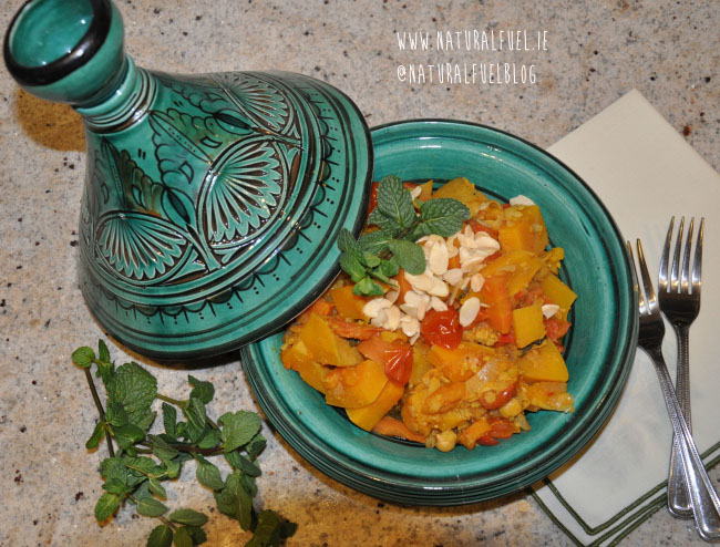 Moroccan Butternut Squash and Chickpea Tagine | Natural Fuel